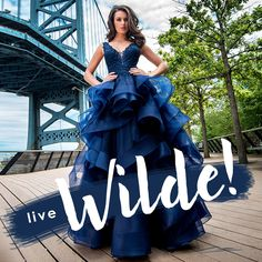 From simple and timeless to trendy and fashion forward, Ellie Wilde for Mon Cheri prom dresses are designed for every wilde child! Shop our collection.