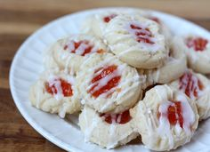 Almond Shortbread Thumbprint Cookies