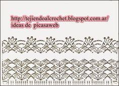 TEJIDOS A CROCHET - GANCHILLO - PATRONES: ROPA BEBE PARA TEJER A CROCHET
