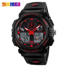 Watches Gentle Swim Men Sports Watches Digital Double Time Chronograph Watch 50m Waterproof Week Display Alarm Japan Quartz Clock G Skmei 1270