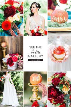 Modern Snow White Wedding Inspiration