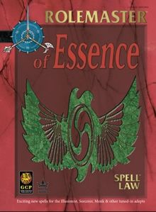 Spell Law: Of Essence supplement for Rolemaster Fantasy Roleplaying (RMFRP) from Iron Crown Enterprises (ICE)
