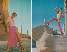 Fashion in Iran before the Islamic Revolution of 1979