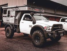 pick ups trucks Pop Up Truck Campers, Truck Flatbeds, Off Road Camper Trailer, Truck Bed Camper, Truck Camping, Ute Camping, Truck Memes, Overland Truck, Expedition Vehicle