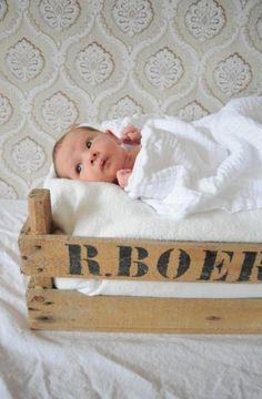 Baby in kistje