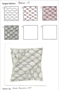 How to draw BASK-IT « TanglePatterns.com: