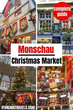 A complete guide to the Christmas market in Monschau (Germany). Contains the latest information about the Monschau Christmas Marketing, including tips for visiting, what to buy at the Christmas market and what to eat at the Christmas market. Includes a helpful guide of the best places to stay in Monschau if you are visiting the Christmas market.