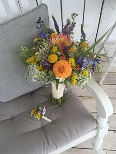 Tiger Garden - fall wildflower wedding