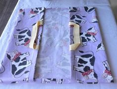 Borse di stoffa - porta torta con mucche - un prodotto unico di bandullera su DaWanda