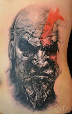 Kratos from God of War by Elvin Yong one of my favorite games and characters everrr