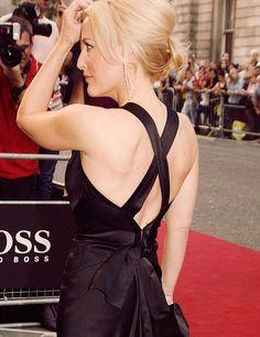 Gillian black dress and tat