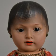 Heubach Kopplesdorf Gypsy Toddler - 11 Inch from beckysbackroom on Ruby Lane