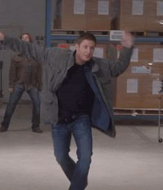 Jensen and Jared are the most serious and mature actors I have ever seen (gif)