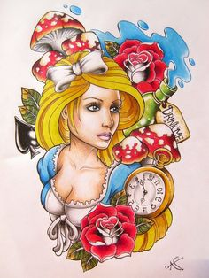 love the way Alice is drawn