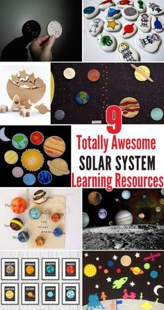 9 totally awesome learning resources for your pint-sized solar system enthusiast.