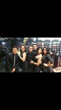 El Equipo M.A.C Tijuana en Gala !!!  #MACtijuana #Starf