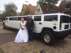 #Huwelijk #Burgwerd #HummerLimousine | Limousine huren Friesland