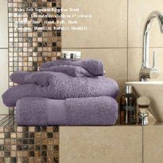 Miami Egyptian Lavender Hand Towel Bath Towel &Bath Sheets – Linen and Bedding
