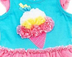 Lots of adorable and cute Ice cream themed dresses and outfits for girls. Brilliant summer wear for little ones.