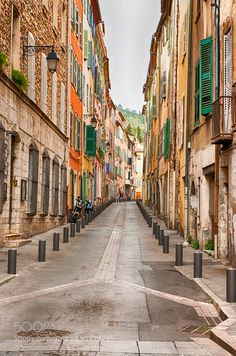 Streets of Draguignon by astephany