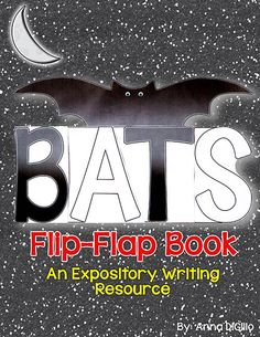 Are you teaching about BATS in your classroom? If so, check out this Expository Writing Resource that allows your students demonstrate their new SCHEMA on BATS!$