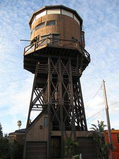 Watertower house, Huntington Beach, CA