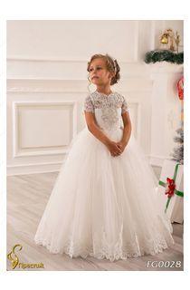 199d753ee408814 детские бальные платья: лучшие изображения (18)   Dresses of girls ...