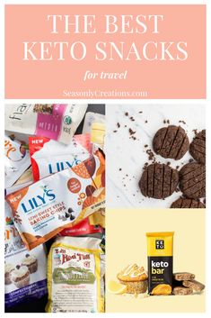 The Best Keto Snacks for Travel Low Carb Summer Recipes, Healthy Low Carb Recipes, Quick Healthy Meals, Low Carb Desserts, Health Recipes, Keto Recipes, Good Keto Snacks, Vegetarian Snacks, Protein Snacks
