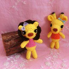 Amigurumi Lion Crochet Lion Stuffed Animal Stuffed Toy Lion Kids Toy Gift Ideas Kawaii Lion Plush Home Decor https://www.facebook.com/rosegardenseldaay