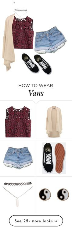 """""""Untitled #1459"""" by musicfasionbooks on Polyvore featuring Alberta Ferretti, Vince, Vans, Wet Seal and Accessorize"""