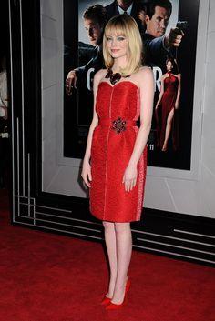 Emma Stone - January 7, 2012