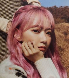 Sakura Miyawaki, Japanese Girl Group, Pink Hair, Kpop Girls, Yuri, Pretty Girls, Idol, Eyes, Celebrities