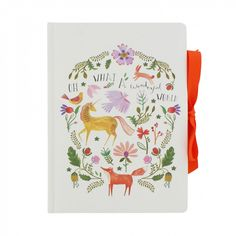 Unicorn A5 casebound notebook