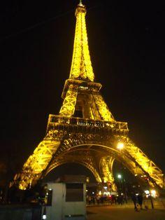 Classically Kacie: Eiffel Tower at night