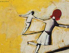 Australian Painting, Australian Artists, Alice In Wonderland Series, Arthur Boyd, Modern Artists, Art Auction, Love Art, Les Oeuvres, Kids Playing
