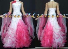 1133c rainbow Ballroom lady Waltz tango salsa foxtep standard dance dress US 8