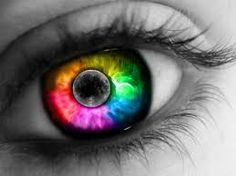 Ally I think mew should draw us together with rainbow lips and eyes ❤️ Pretty Eyes, Cool Eyes, Beautiful Eyes, Beautiful Things, Rainbow Eyes, Rainbow Colors, Bright Colors, Gay Pride Tattoos, Cool Contacts