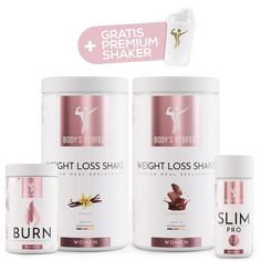 Abnehmpaket - für Frauen – Body's Perfect Fat Burner Smoothie, Fat Burner Drinks, Fat Burner Pills, Biotin, Diet Plans To Lose Weight, How To Lose Weight Fast, Nutrition Food List, Natural Fat Burners, Post Workout Food