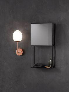 Astro Lighting 8008 Kiwi LED Bathroom Wall Light in Copper Wall Lights, Bathroom Lighting, Led Wall Lights, Small Space Inspiration, Interior Lighting, Wall, Copper Lighting, Light Fittings, White Glass
