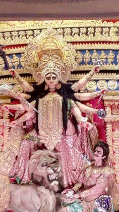 Durga Puja Kolkata, Durga Goddess, Statue, Painting, Art, Art Background, Painting Art, Kunst, Paintings