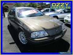 2000 Ford Fairlane Auii Ghia 75th Anniversary Sand Storm Automatic 4sp A Sedan #ford #fairlane #forsale #australia