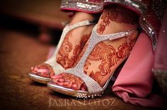 wedding henna feet - Google Search
