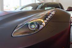 Matte Gray Ferrari F12 Headlight Detail [4928x3264] [OC] - Click the PIN to see more!