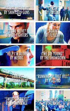 Veronica Roth's Divergent playlist ~Divergent~ ~Insurgent~ ~Allegiant~