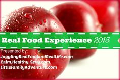 Real Food Experience 2015 will challenge you to make healthier choices as part of your New Year's Resolution. Our team will provide tips, recipes,& more.