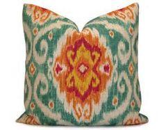coral ikat fabrics - Bing Images