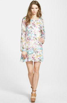 Tildon Floral Print Swing Dress | Nordstrom