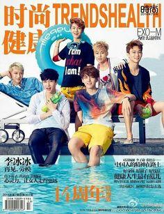 Exo M for Health Magazine ♡ #exo