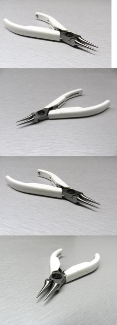 Pliers Cutters and Shears 34085: Lindstrom 7590 Round Nose Pliers Precision Supreme Line Quality Hand Tools BUY IT NOW ONLY: $38.38