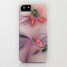 Flower in the Wind iPhone Case by Klara Acel - $35.00